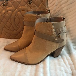 Australia Luxe Collective Luana Pony Hair Booties
